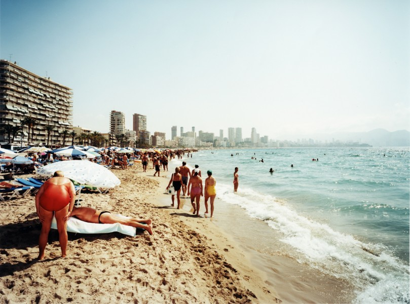 Personal Project, summer time in Benidorm, Spain