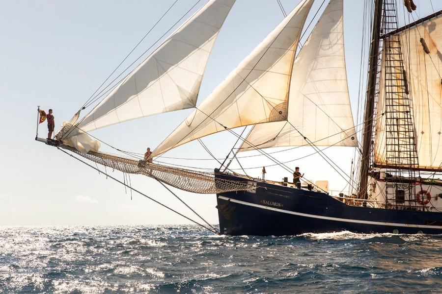 Schulschiff Salomon, Migros Magazine