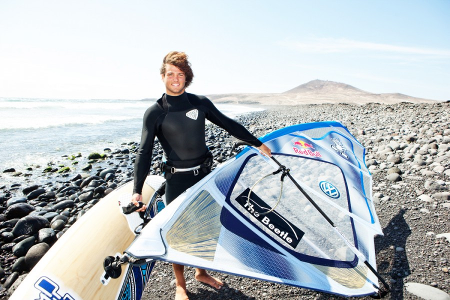 Philip Koester, world surf champion, photographed for Stern Magazine