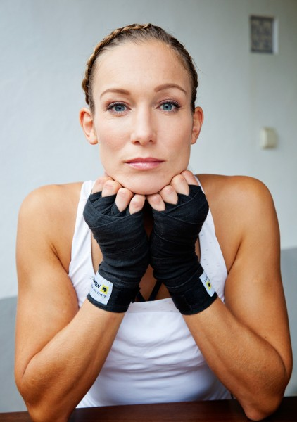 Kickboxing Christine Theiss, Stern