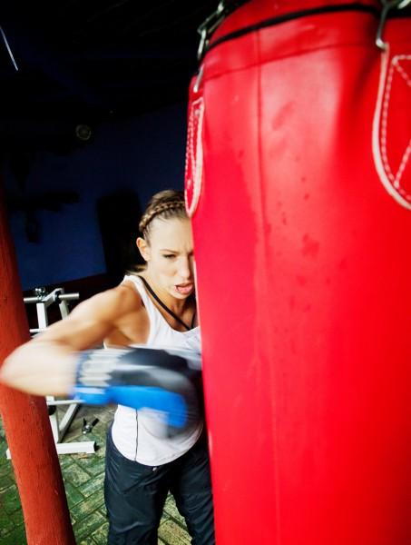 Kickboxing Christine Theiss, Stern