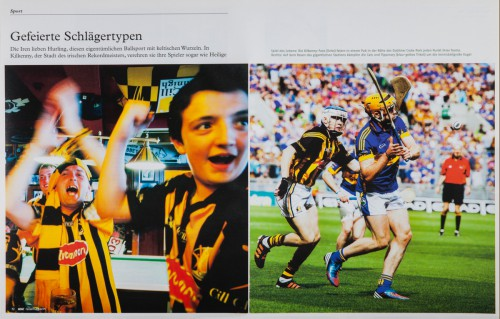 Hurling in Ireland, ADAC Travel Magazine