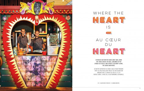 Heart experience, Enroute Magazine