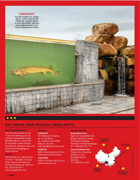 BEEF Magazine, deli products from China