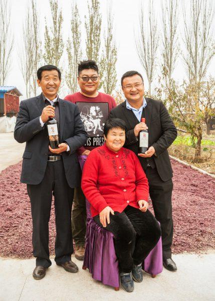 China, wine, truffle and caviar.