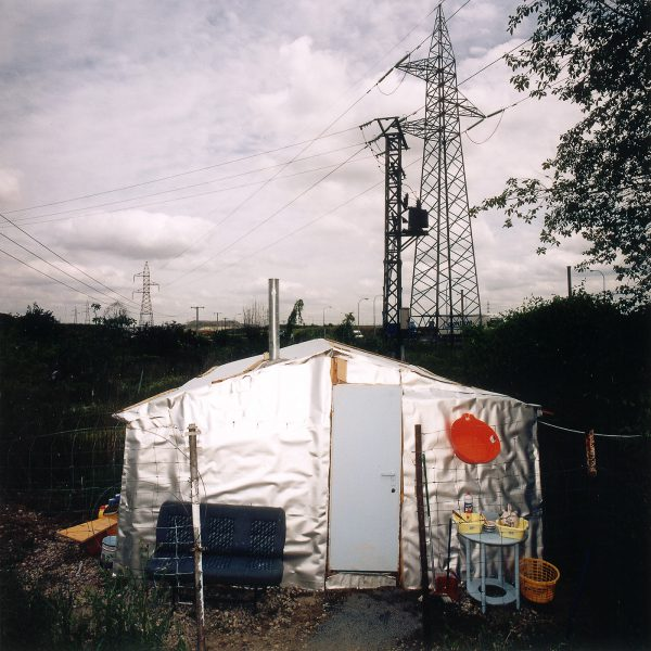 Shanty town in Madrid