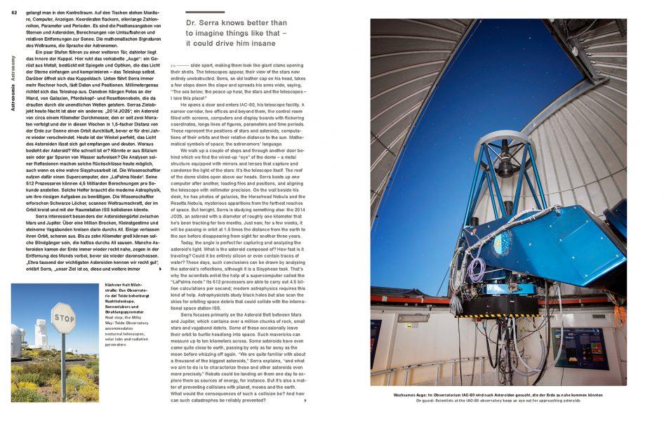 Lufthansa Magazine