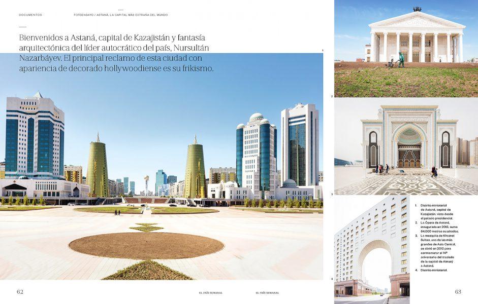El Pais Semanal, Astana