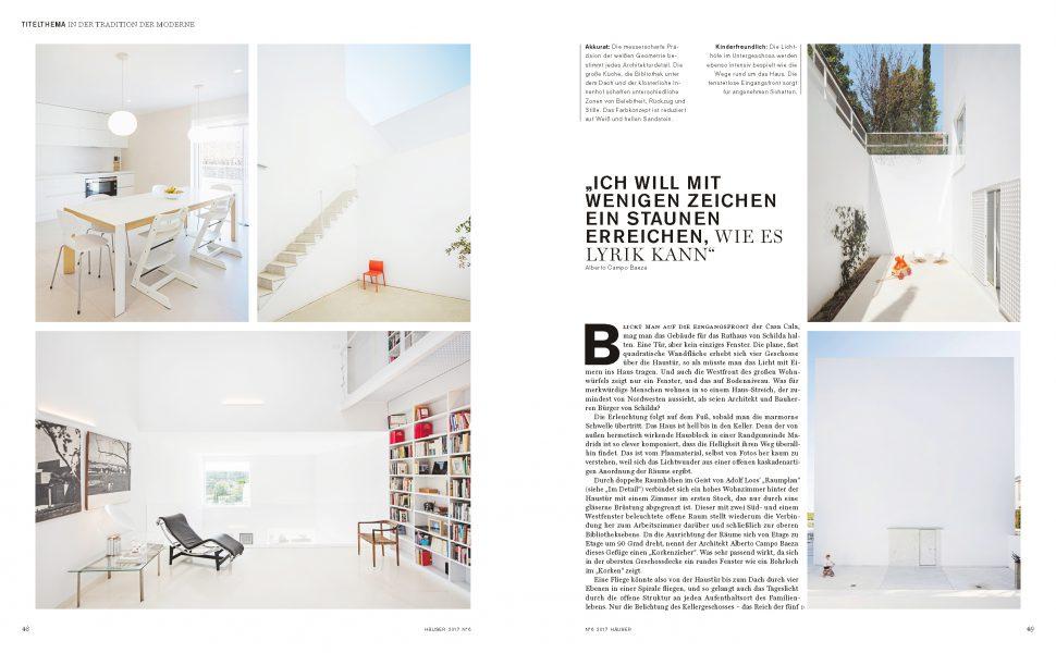 Häuser Magazin, Casa Cala