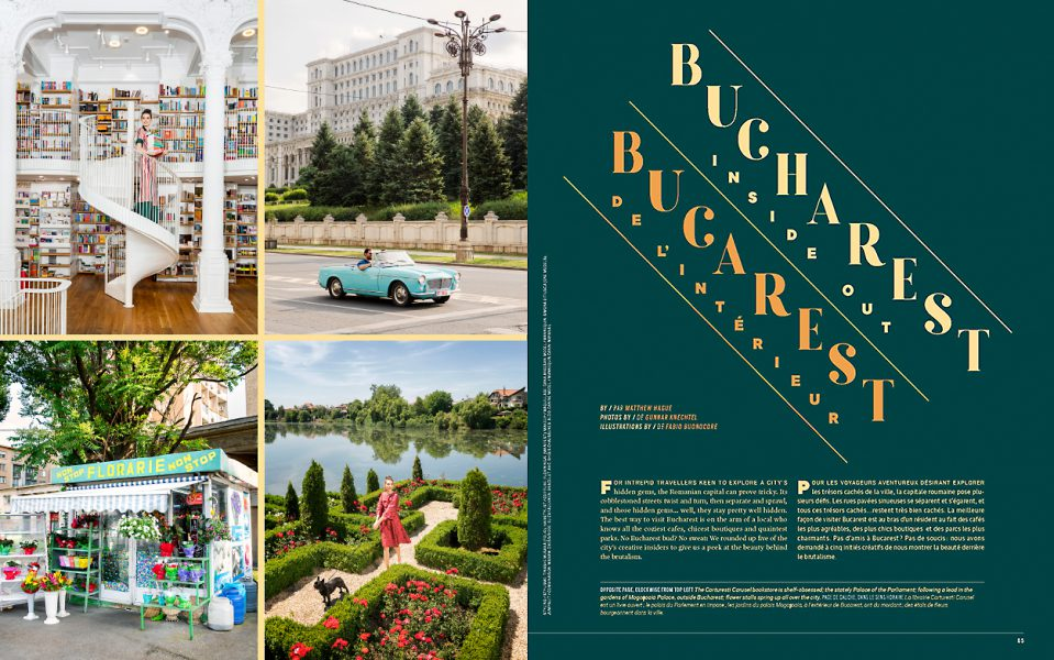 Enroute Magazine, Bucharest