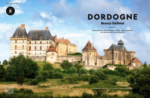 National Geographic Traveler US. Dordogne, France