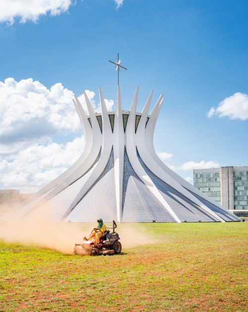 Brasilia, the capital created on the drawing board