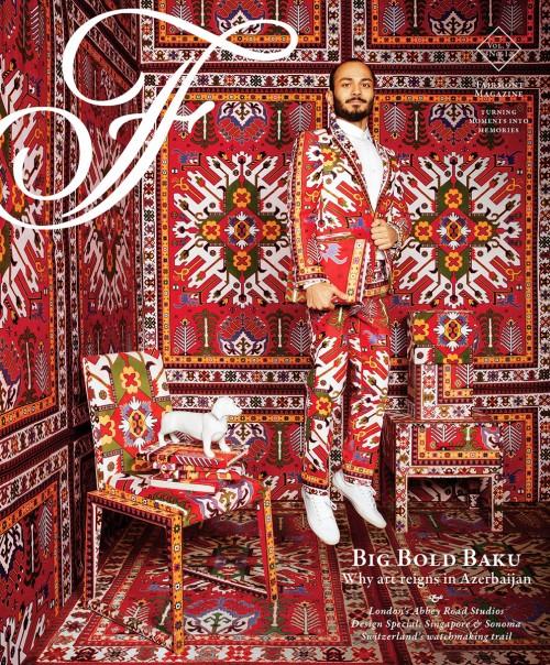 Artist in Baku, Fairmont Magazine