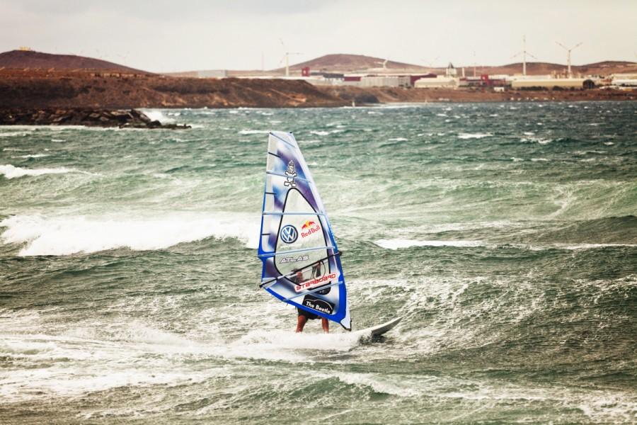 Philip Koester, world surf champion, photographed for Stern Magazine