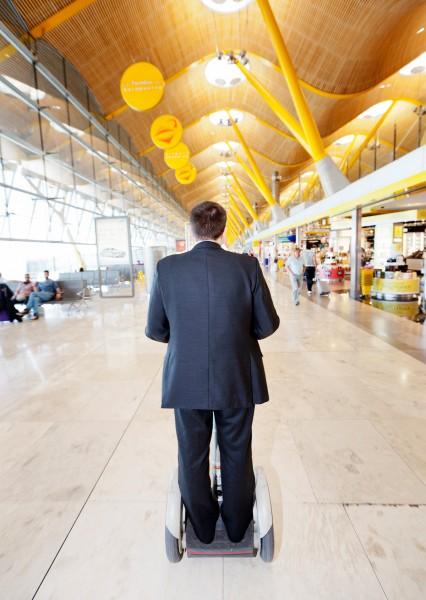 Barajas Airport Terminal 4 , Madrid for El Pais Semanal