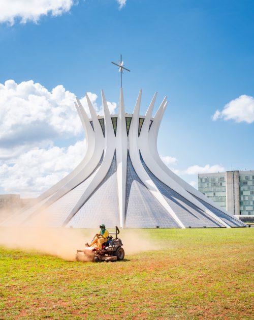Brasilia, the capital created on the drawing board